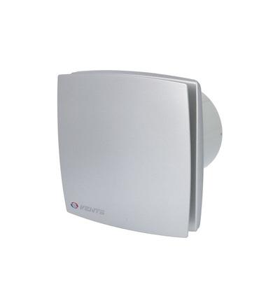 Ventilátor VENTS 100 LDS  stříbrný kryt, ELEMAN 1009053