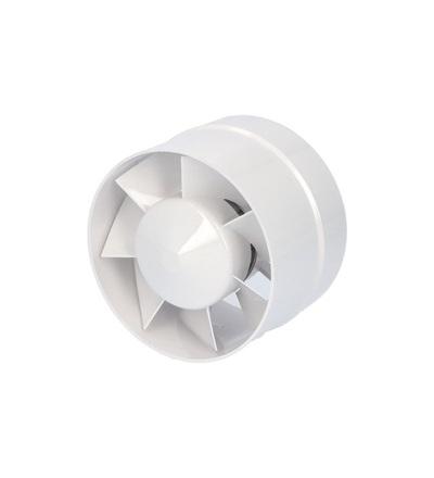 Ventilátor VENTS 125 VKO do potrubí, ELEMAN 1009221