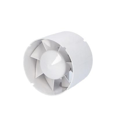 Ventilátor VENTS 125 VKO1TL do potrubí, ELEMAN 9227
