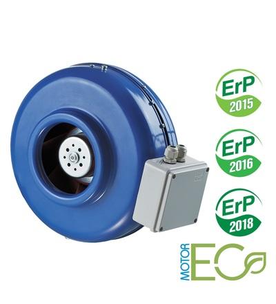 Ventilátor VENTS VKM 250 EC potrubní s EC motorem, ELEMAN 1009518