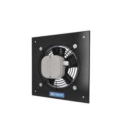 Ventilátor VENTS OV2E 250 průmyslový, čtvercový (370x370mm), černý, ELEMAN 1009602
