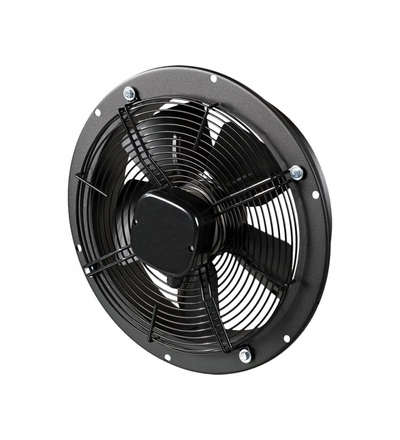 Ventilátor VENTS OVK2E 300 průmyslový, kruhový (průměr 280mm), černý, ELEMAN 1009631