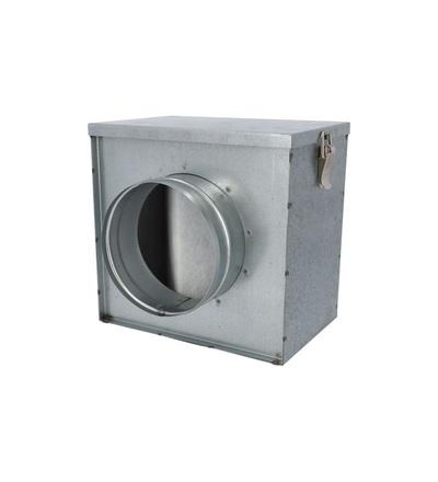 VENTS FBV 125 vzduchovod kovový-Filtrační BOX 125mm, ELEMAN 1009923