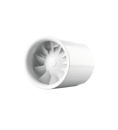 Ventilátor VENTS 125 QUIETLINE T do potrubí, tichý, úsporný, ELEMAN 1010108
