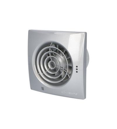 Ventilátor VENTS 100 QUIET Aluminium snížená hlučnost, ELEMAN 1010300
