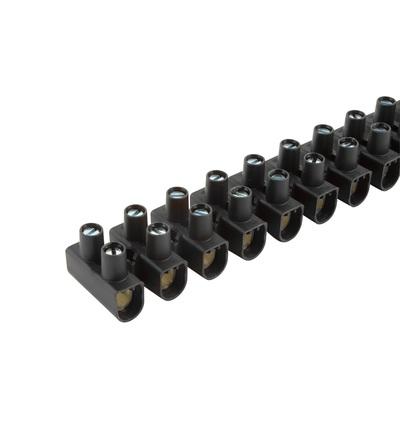Svorkovnice instalační EKL 3 S, 12x4÷16mm2, T80, PP, černá, povrch. uprav. ocel /88168198, ELEMAN 1060