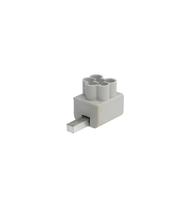 Svorka připojovací AS-3x16 SNS rozbočná, jazýček/kolík, 3x16mm2, 1mod. / 2010804, ELEMAN 79501 (20 ks)