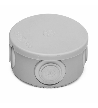 FAMATEL Krabice 3001 IP55 kulatá prům.80x40mm 3001