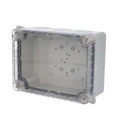 FAMATEL Krabice 3042 IP55 163x121x73mm průhl. 3042