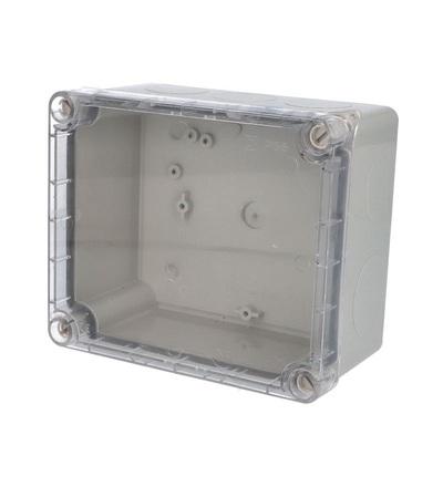 FAMATEL Krabice 3043 IP55 170x140x90mm průhl. 3043