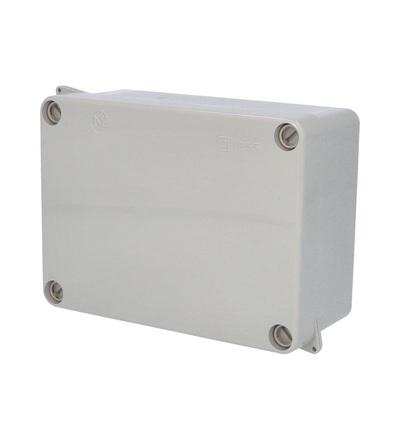 FAMATEL Krabice 3072 IP55 160x120x73mm, plné víko, hladké boky 3072