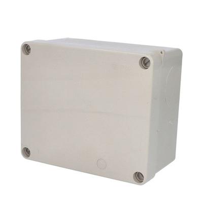 FAMATEL Krabice 3073 IP55 170x140x90mm, plné víko, hladké boky 3073