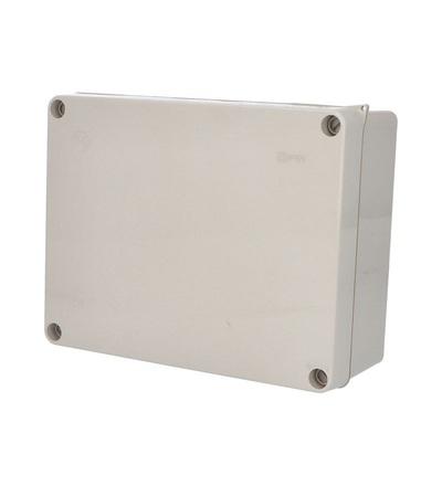 FAMATEL Krabice 3074 IP55 235x182x95mm, plné víko, hladké boky 3074