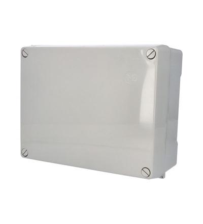 FAMATEL Krabice 3075 IP55 320x250x135mm, plné víko, hladké boky 3075