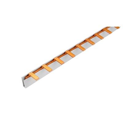Prop. lišta S-1L-210/16 ISO, kolík (jazýček), 1pól., 80A, rozteč 17,8mm, ELEMAN 350