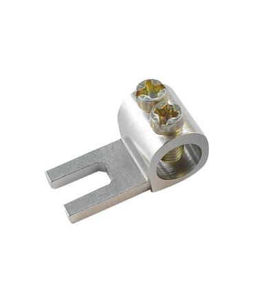 Svorka připojovací AS/35-K, vidlička, nekrytá, 35mm2, 100A / 2010302, ELEMAN 390