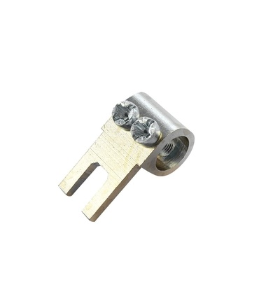 Svorka připojovací AS/35-M/N, vidlička, nekrytá, 35mm2, 100A / 2010304, ELEMAN 392