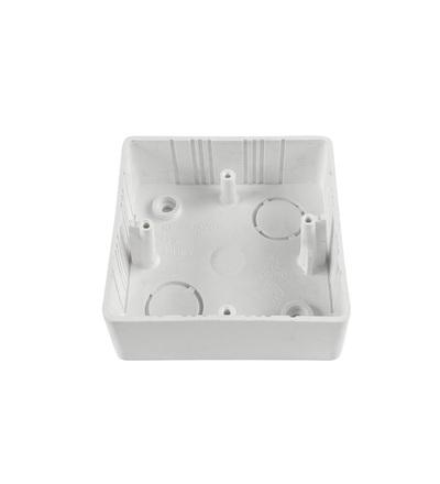 Krabice lištová KL 80x28 TG, (hloubka 28mm), pod TANGO, bílá, na omítku, ELEMAN 724