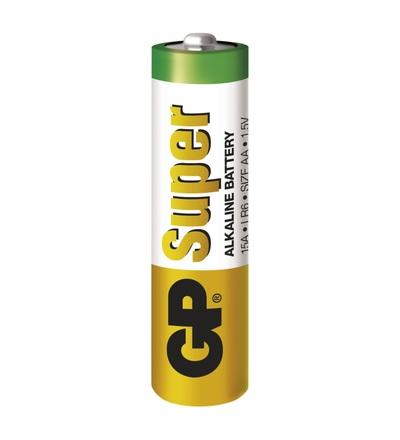 Alkalická baterie GP Super AA (LR6) B1320S2