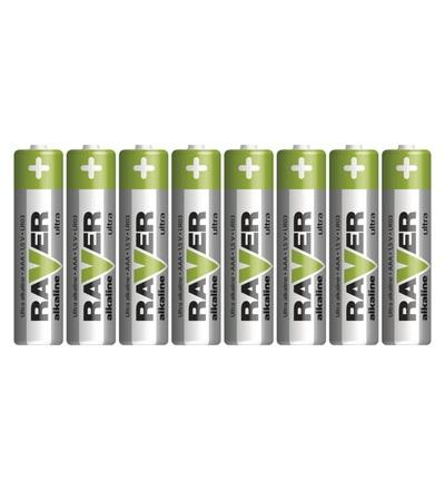 Alkalická baterie RAVER AAA (LR03) B79118