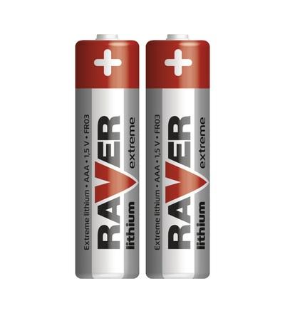 Lithiová baterie RAVER AAA (FR03) B7811