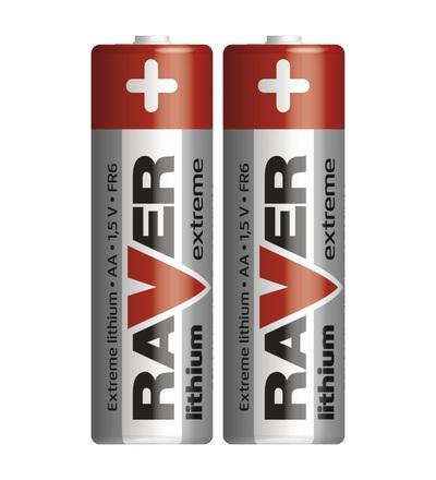 Lithiová baterie RAVER AA (FR6) B7821