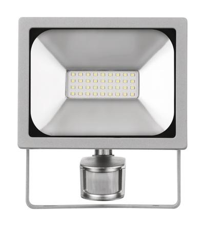 LED reflektor PROFI s pohybovým čidlem, 20W neutrální bílá ZS2720