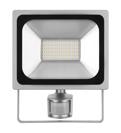 LED reflektor PROFI s pohybovým čidlem, 30W neutrální bílá ZS2730