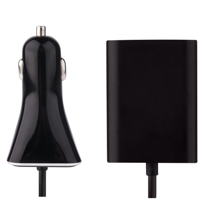 Emos Univerzální USB adaptér do auta 7,3A (36,5W) max., kabelový V0216