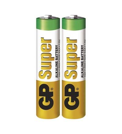 Alkalická baterie GP Super AAA (LR03) B1310