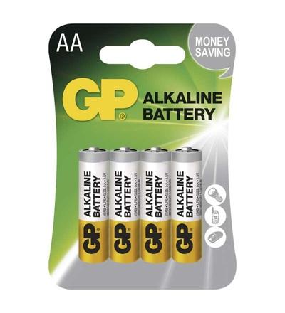 Alkalická baterie GP Alkaline AA (LR6) BA1321
