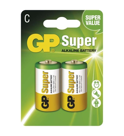 Alkalická baterie GP Super C (LR14) B1331