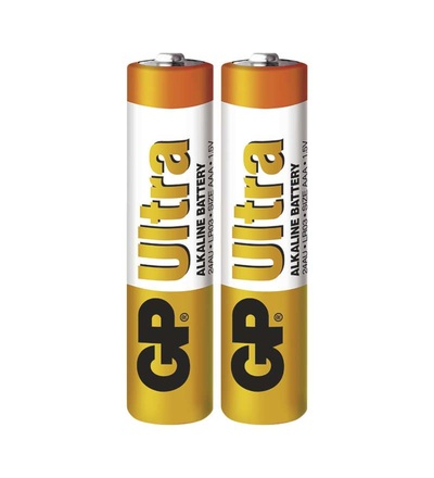 Alkalická baterie GP Ultra AAA (LR03) B1910