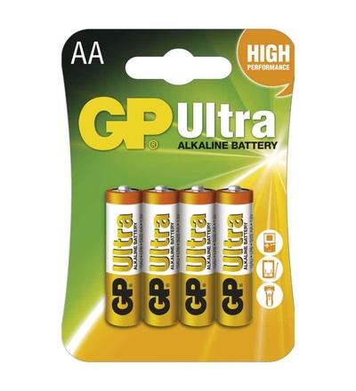 Alkalická baterie GP Ultra AA (LR6) B1921