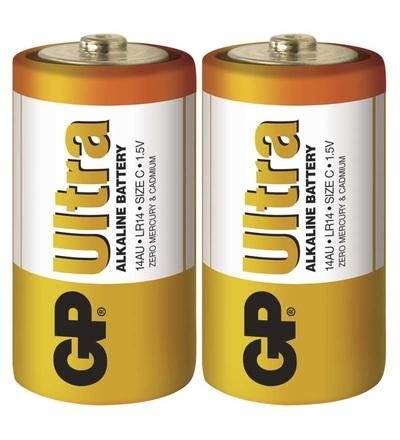 Alkalická baterie GP Ultra C (LR14) B1930
