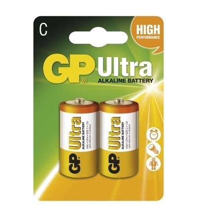 Alkalická baterie GP Ultra C (LR14) B1931