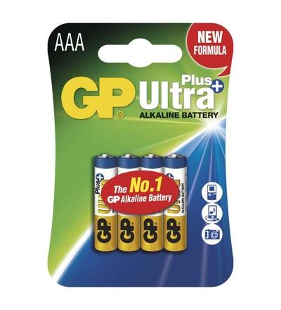 Alkalická baterie GP Ultra Plus AAA (LR03) B1711