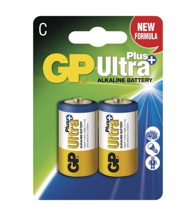 Alkalická baterie GP Ultra Plus C (LR14) B1731