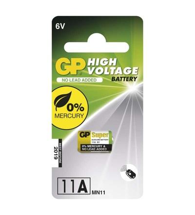Alkalická speciální baterie GP 11AF (MN11) 6 V B13021