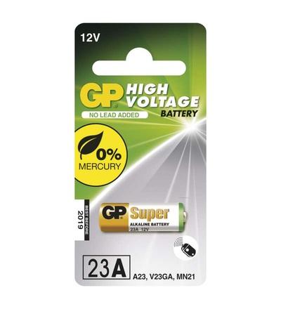 Alkalická speciální baterie GP 23AF (MN21, V23GA) 12 V B13001