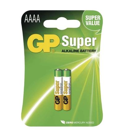 Alkalická speciální baterie GP 25A (AAAA, LR61) 1,5 V B1306