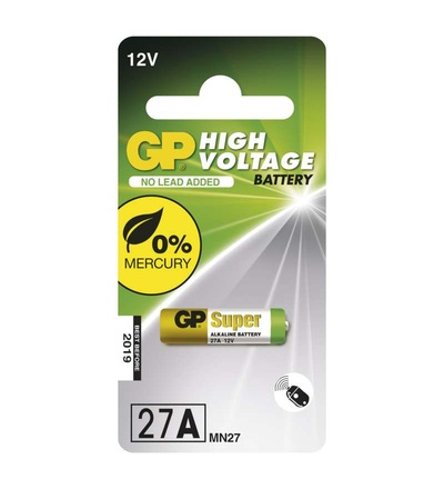 Alkalická speciální baterie GP 27AF (MN27, V27GA) 12 V B13011
