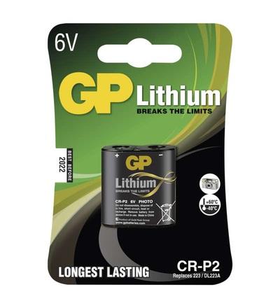 Lithiová baterie GP CR-P2 B1502