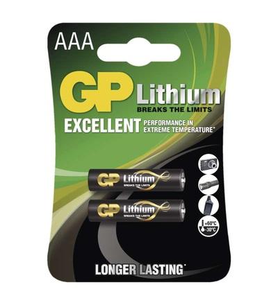 Lithiová baterie GP AAA (FR03) B15112