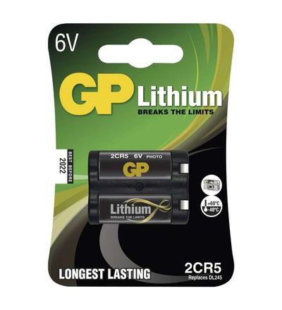 Lithiová baterie GP 2CR5 B1505