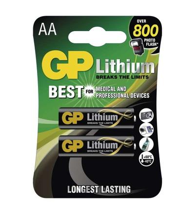 Lithiová baterie GP AA (FR6) B15212