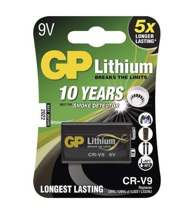 Lithiová baterie GP 9V (CR-V9) B1509