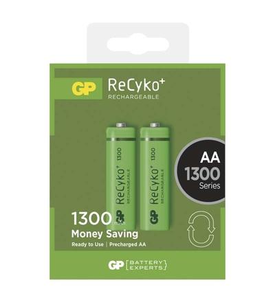 Nabíjecí baterie GP ReCyko+ 1300 (AA) B1433