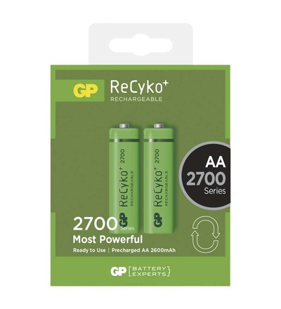 Nabíjecí baterie GP ReCyko+ 2700 (AA) B1407