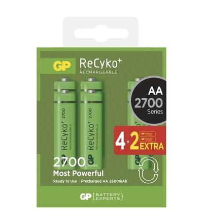 Nabíjecí baterie GP ReCyko+ 2700 (AA) B1407V
